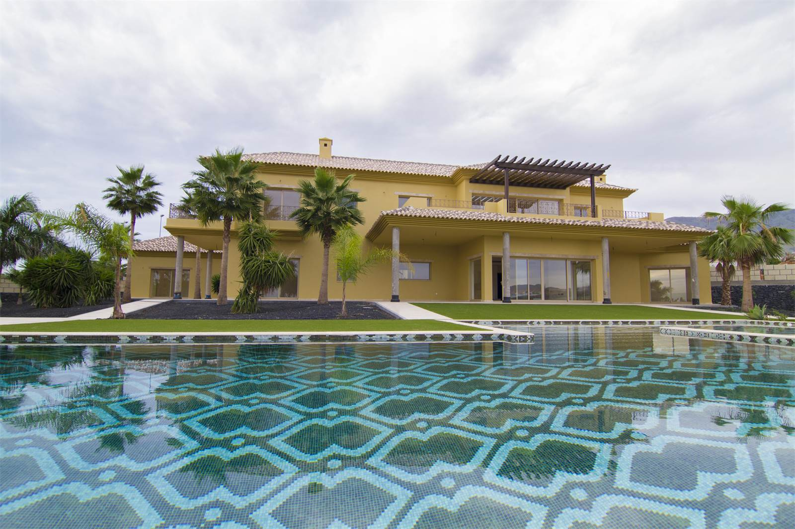<b>7 Bedrooms, 7,373 sq. ft.</b><br/>Costa Adeje Golf course property with beautiful gardens