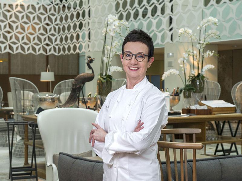 Carme Ruscalleda, partner chef at Mandarin Oriental, Barcelona, is the first female chef to win seven Michelin stars.