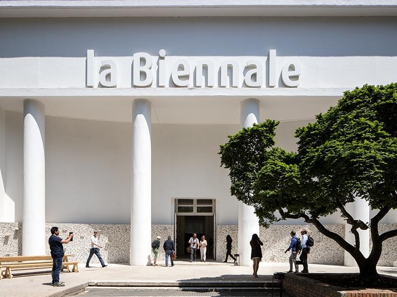 The Central Pavilion in the Giardini is at the heart of La Biennale. Photograph: Francesco Galli. Banner image: La Biennale di Venezia is headquartered at Cà Giustinian, a 15th-century Venetian Gothic palazzo along the Grand Canal. Photograph: Giulio Squillacciotti