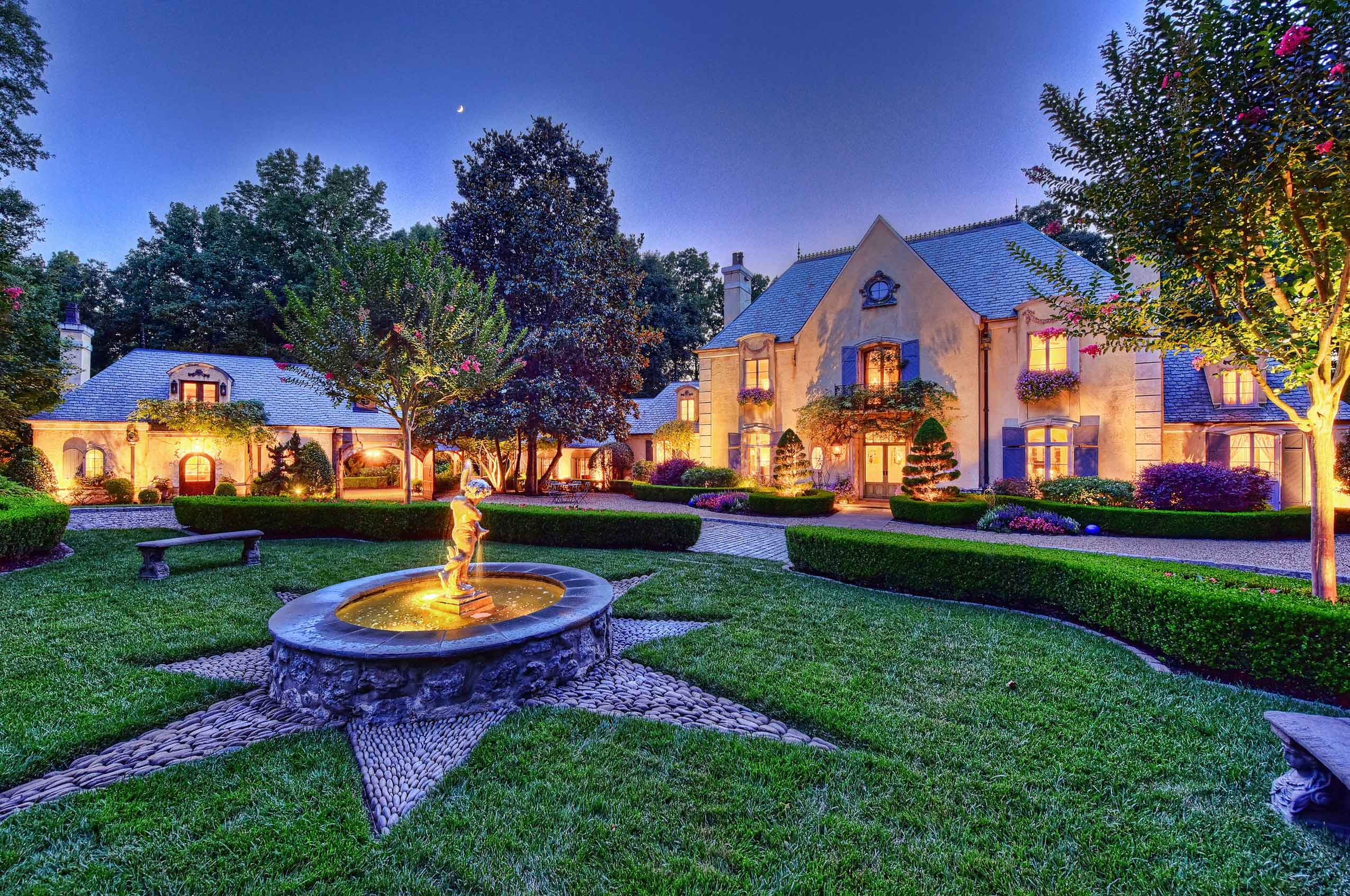 Graced with an authentic charm rooted in the rural French countryside, this artisan-designed estate exudes Old World elegance.