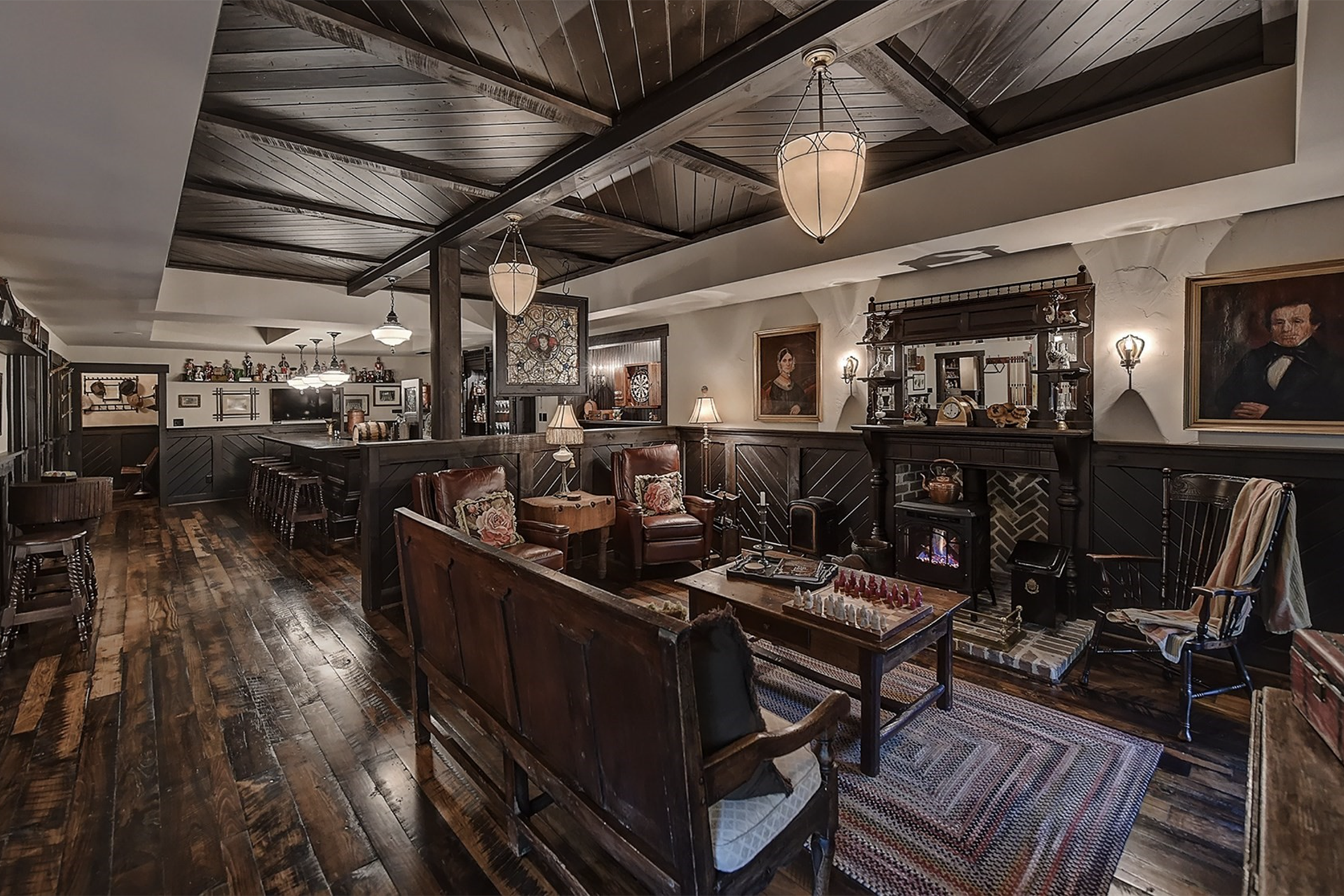 This Gracious Charlotte Home Has An Authentic Irish Pub, Which