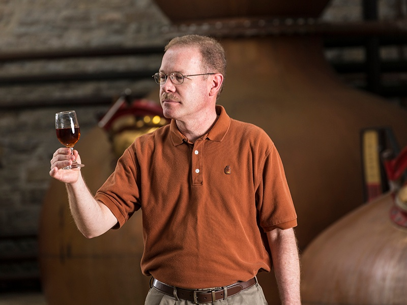 Master Distiller Chris Morris has embraced innovation alongside tradition at Woodford Reserve, creating the distillery's Double Oaked bourbon, Kentucky Straight Rye whiskey, and Master's Collection range.