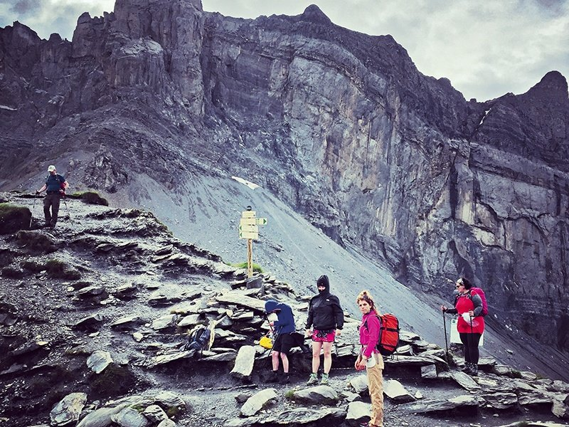 The Treks organizes climbs that have taken in the Col d'Anterne mountain pass near the Franco-Swiss border.