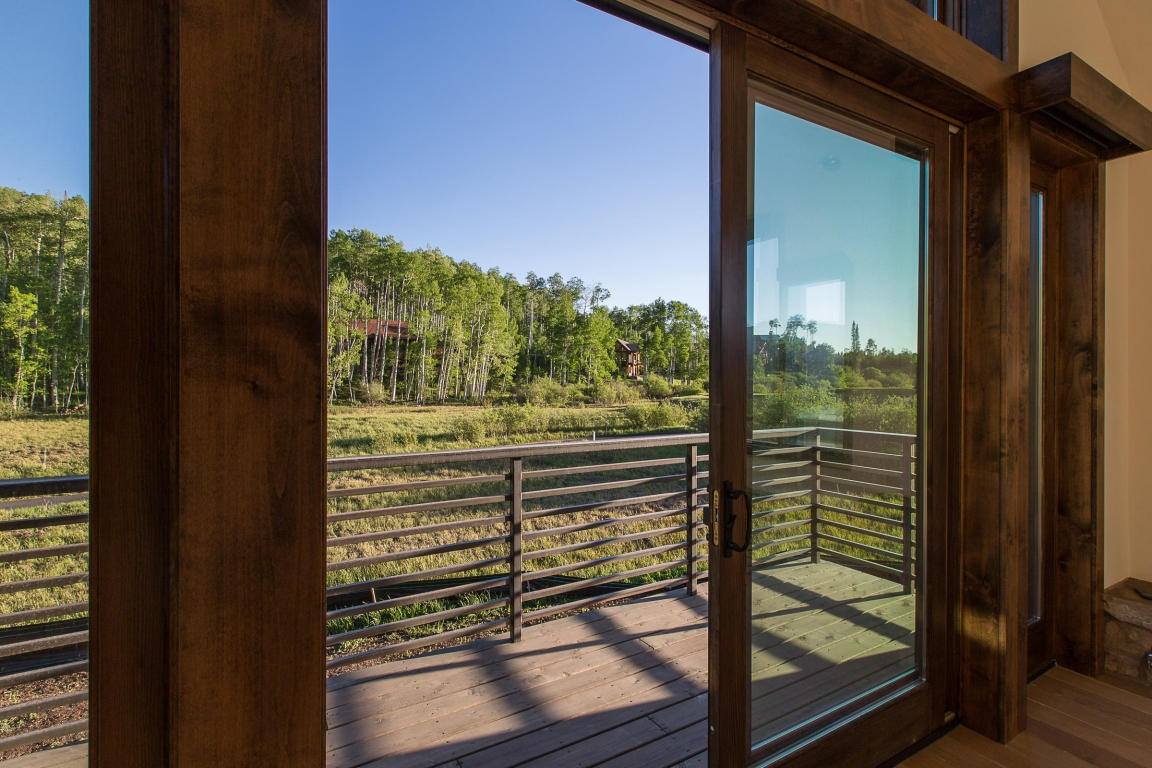 Located on the 15th Fairway of the Telluride Mountain Village Golf Course, no detail was overlooked, from the spectacular outdoor living spaces, to passive solar heating, electronically controlled window coverings, or the state-of-the-art AV & Climate Control systems.
