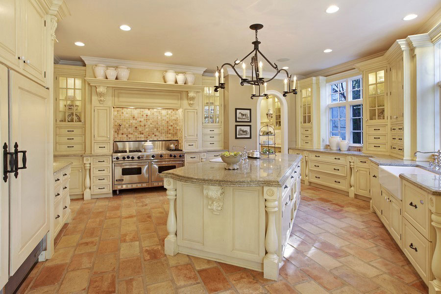 <b>5 Bedrooms, 10,930 sq. ft.</b><br/>Custom French country stone estate on private acre lot