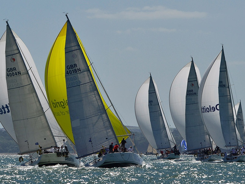 Cowes on the Isle of Wight is home to Cowes Week, the oldest and biggest sailing regatta in the world. Photograph: Getty Images