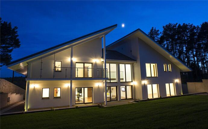 The first certified Passive house in Aberdeen, Scotland, Crombie House has been constructed in accordance with German Passivhaus building standards, the most stringent building regulation in the world.