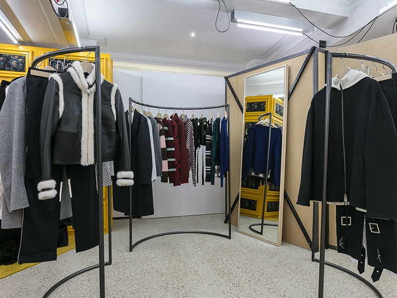 Originally on Mayfair's Dover Street, the concept store of fashion brand Comme des Garçons is now located at 18-22 Haymarket, inside a historic building built by Thomas Burberry of the eponymous British brand.