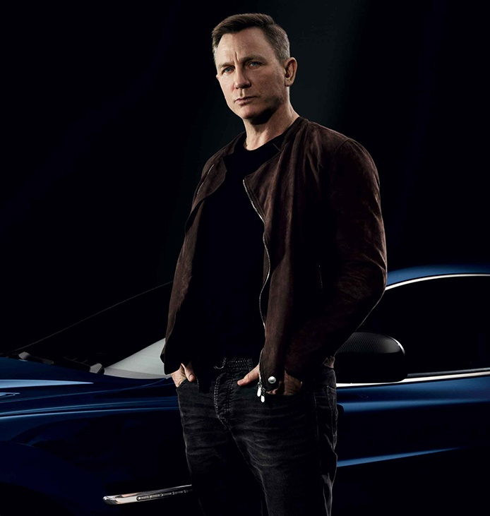 "Daniel Craig remarks: ""This Aston Martin Vanquish is a tour-de-force of automobile engineering and a distinct pleasure to drive. While I will miss it, I am keen to further the very important work of The Opportunity Network with its sale."""