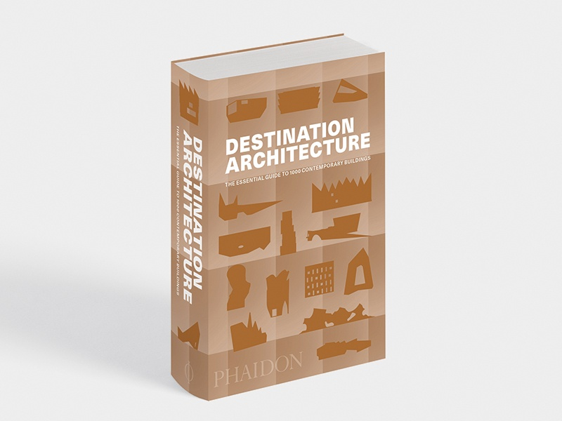 <i>Destination Architecture</i>, published by Phaidon, serves as an architectural travel guide for enthusiasts and curious beginners alike, and its small format makes it convenient for packing in a carry-on.