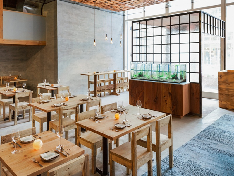 The Perennial was chosen as one of <i>GQ</i>'s 12 Best New Restaurants in America for 2016. Photograph: Helynn Ospina