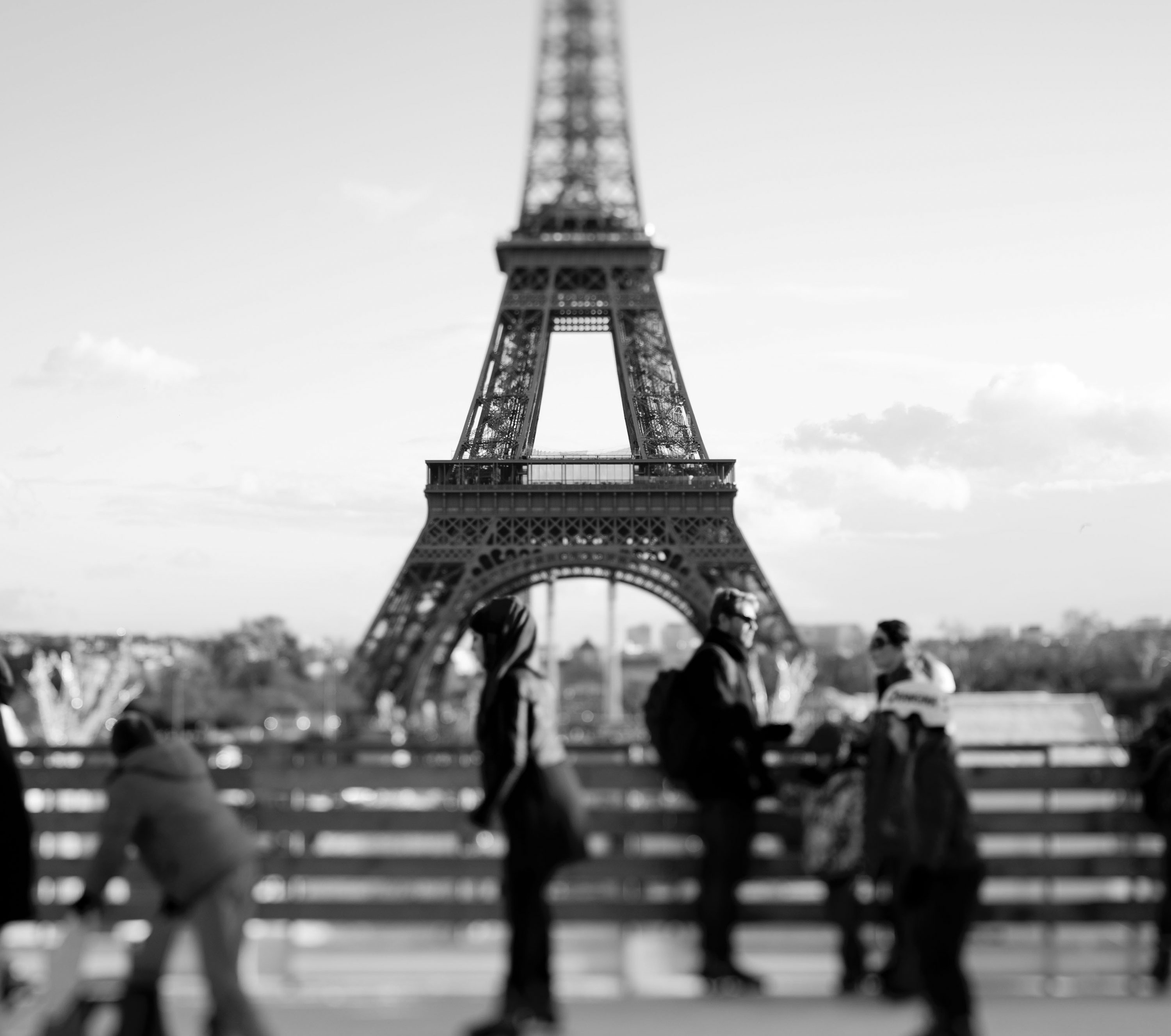 From December to February, the iconic Parisian monument is home to one of the world's most romantic skating venues. The ice rink is situated on the tower's first floor pantinoir almost 200 feet above the city, and features a bar selling mulled wine and hot chocolate.