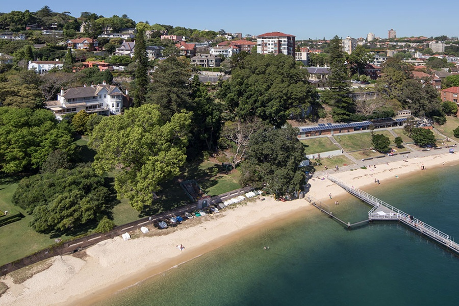 Sydney is home to the unique and historic Elaine estate, which has an exceptional waterfront perch in Point Piper.