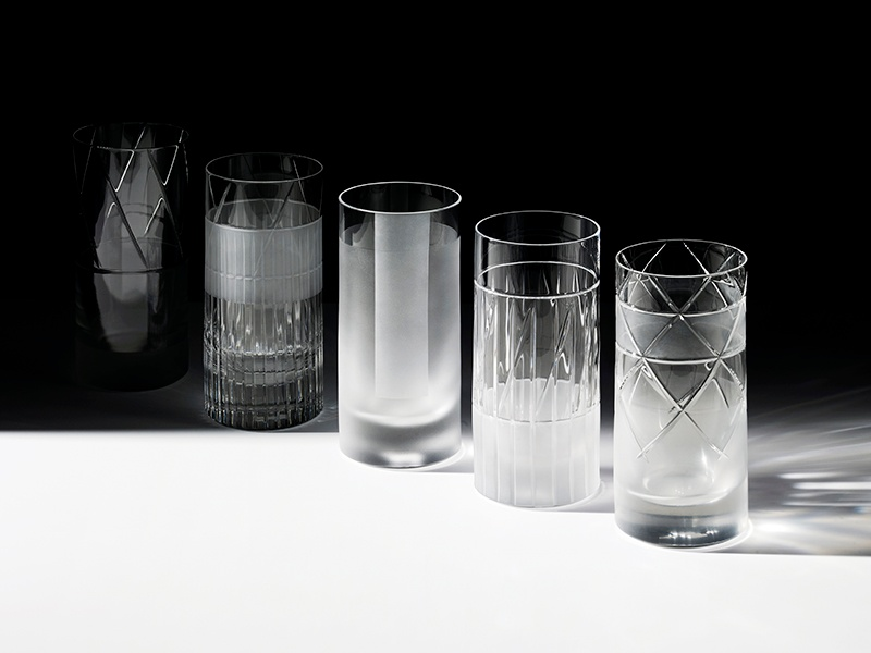 Each glass in the Elements series has a different design, meaning those stocking their shelves can create their own unique collection—matching or mixed.