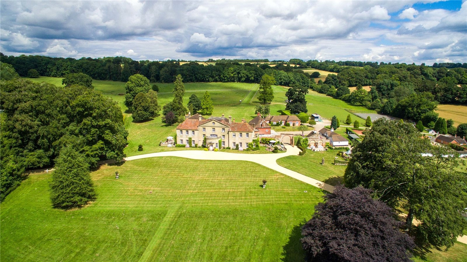Standen House, a 16th-century manor house in the Hampshire countryside, is surrounded by more than 40 acres of glorious private parkland.