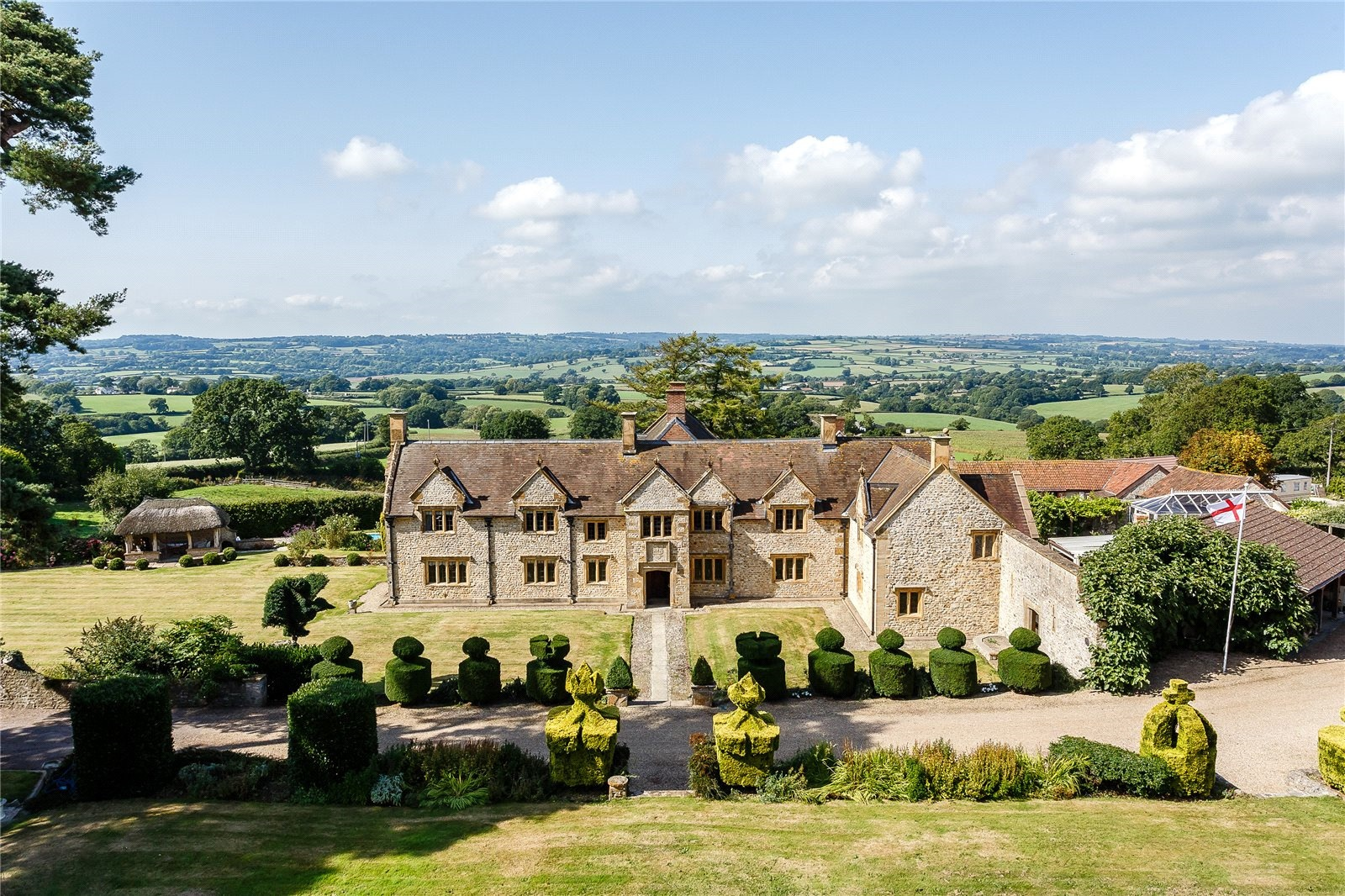 Legend has it that King Charles II spent a night at this circa-1553 Elizabethan manor while fleeing the Roundheads after the final battle of the English Civil War.