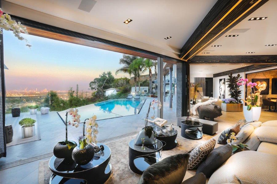 Best known as the center of the world's film and television industry, Los Angeles also boasts vast green spaces like the Hollywood Hills, where homes such as this luxury retreat offer ocean and city views without sacrificing easy access to the city itself.