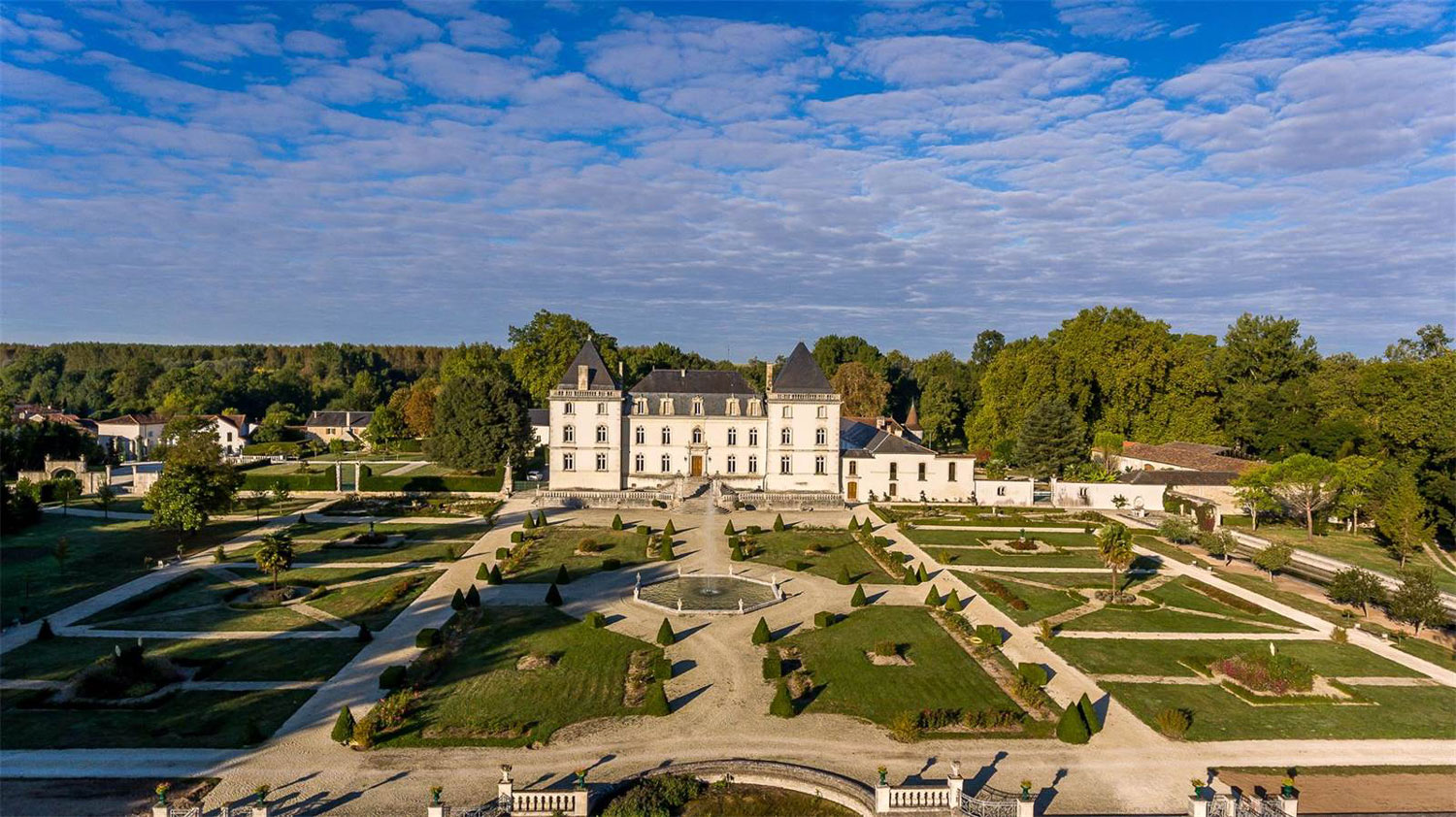 One of the finest properties in France, this historic château is set like a jewel amid 104 acres of glorious grounds replete with classical formal gardens and a hunting preserve.