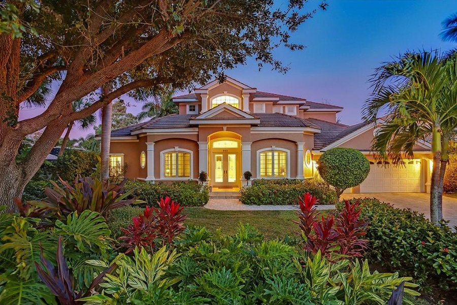 This waterfront dream house is situated in an exclusive enclave of homes located minutes from both downtown Sarasota and some of Florida's most desirable beaches.