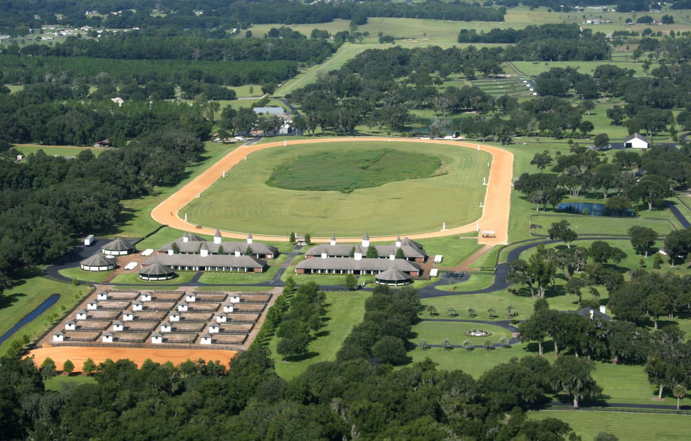 Padua Stables, a 768-acre world-class horse farm and training facility in Ocala, Florida, is considered one of the most impressive equestrian facilities in the world.