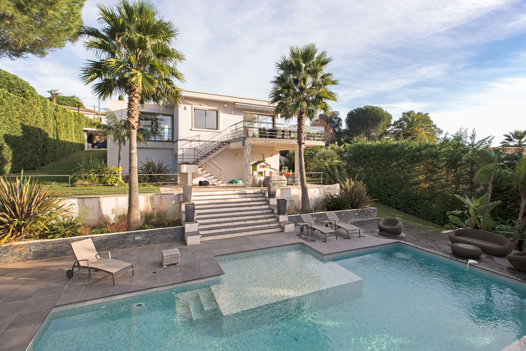 <b>4 Bedrooms, 3,229 sq. ft.</b><br/>Modern villa with terrace and panoramic sea views