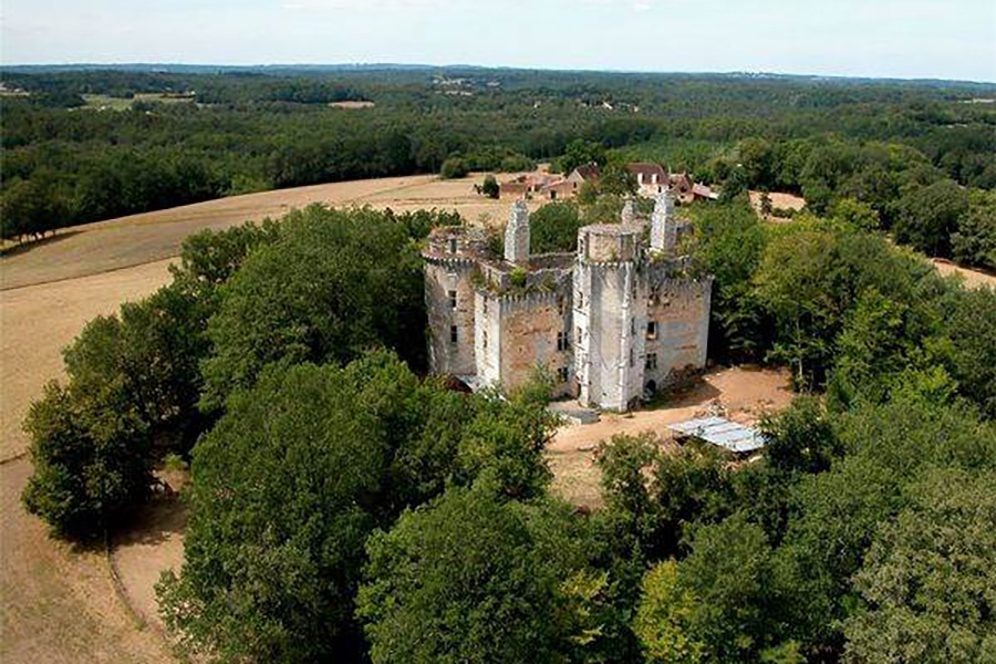 This 16th-century Gothic gem in southwestern France is full of ornately carved architectural details including 13 monumental fireplaces that are still intact.