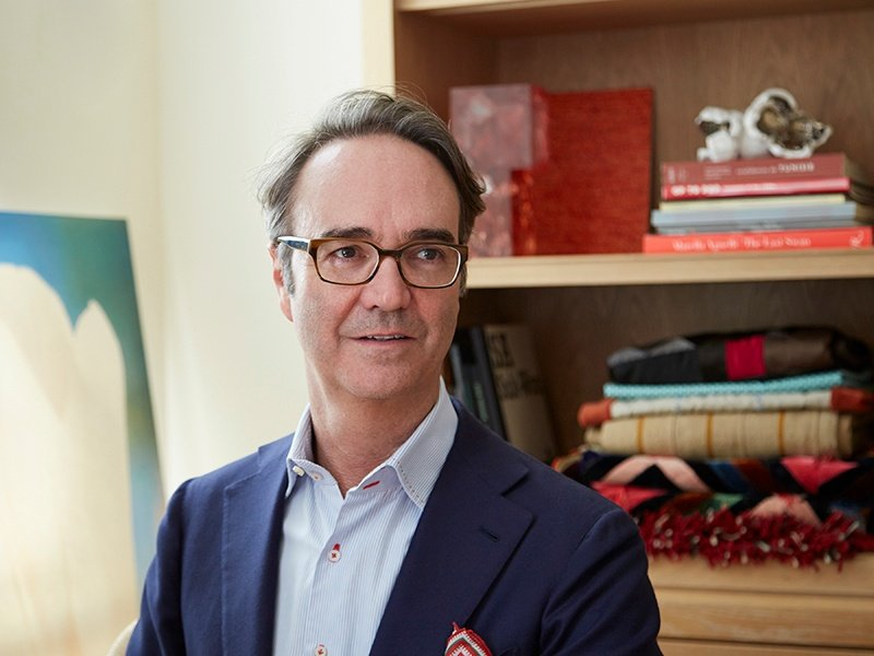 Frank de Biasi spent six years at Christie's New York and 12 years as director of interiors for architect Peter Marino before setting up his own design practice.