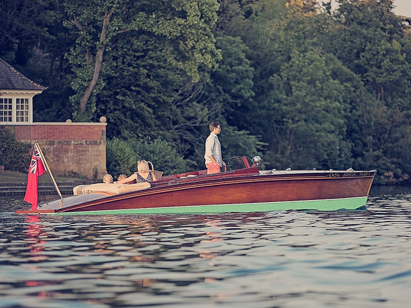 """Peter Freebody & Co. boasts a 300-year heritage in boat-building, but the English """"slipper launch"""" concept dates from 1912 and first achieved popularity in the 1930s."""