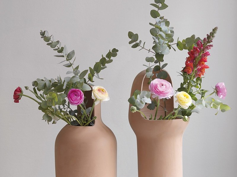 Fully realized: the finished Gardenias Collection garden vases. Photograph: Hayon Studio