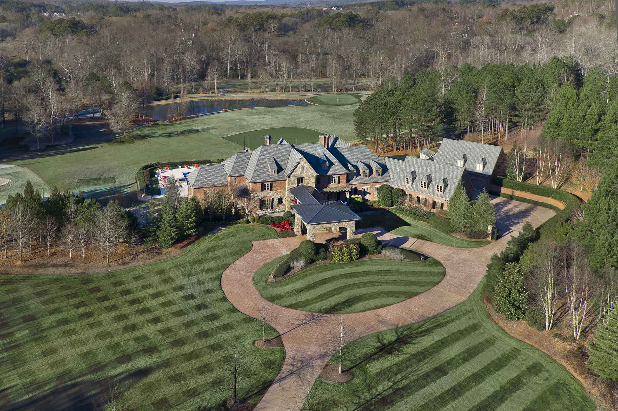 Play on your own baseball field designed by Braves Pitcher John Smoltz