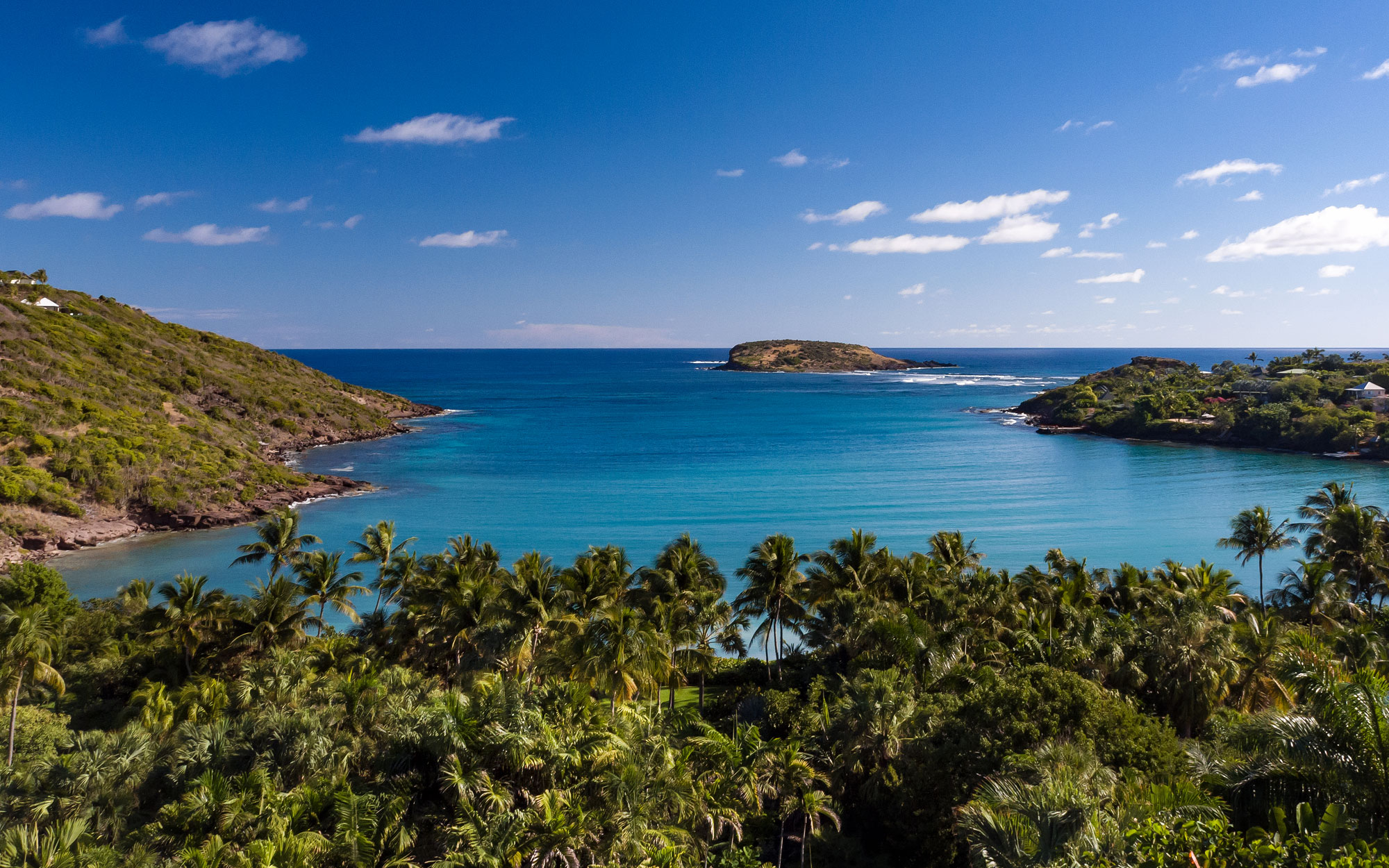 Girasol is a lush and expansive compound on precious St. Barts waterfront.