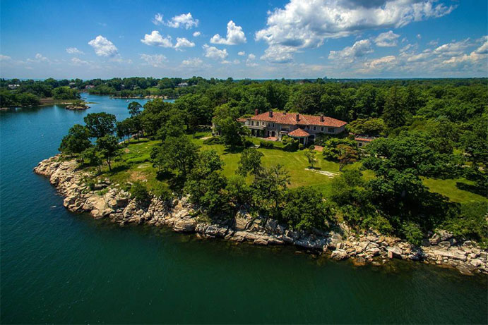 Great Island, Darien, Connecticut<br><i>List Price: $175,000,000</i>