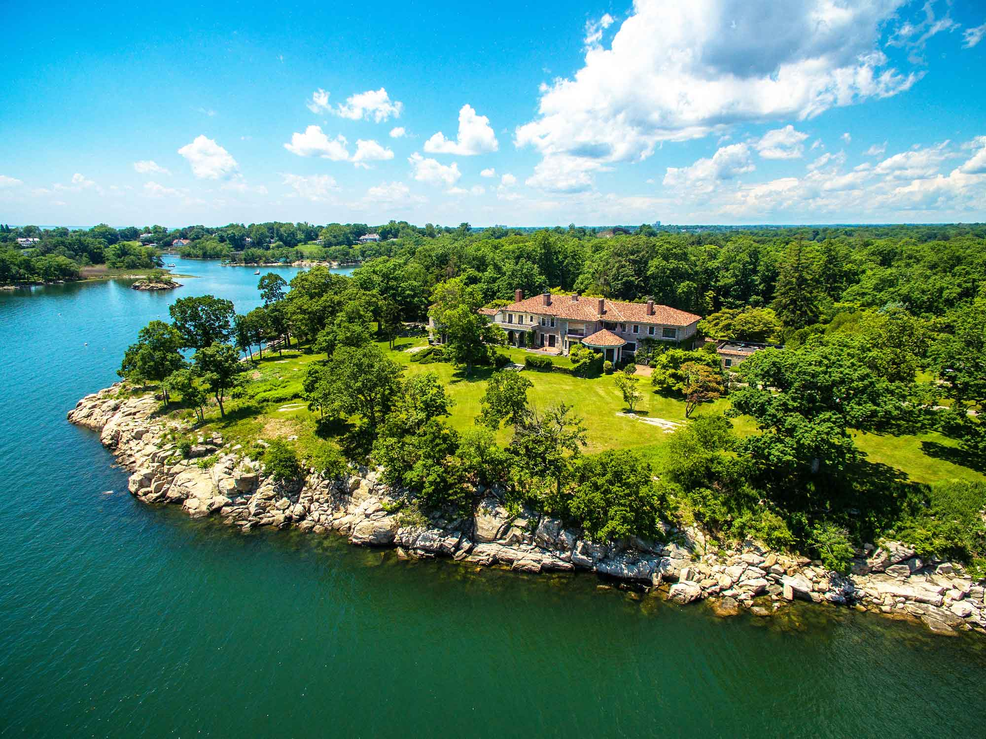 Great Island in Connecticut, offered for sale at $175 million