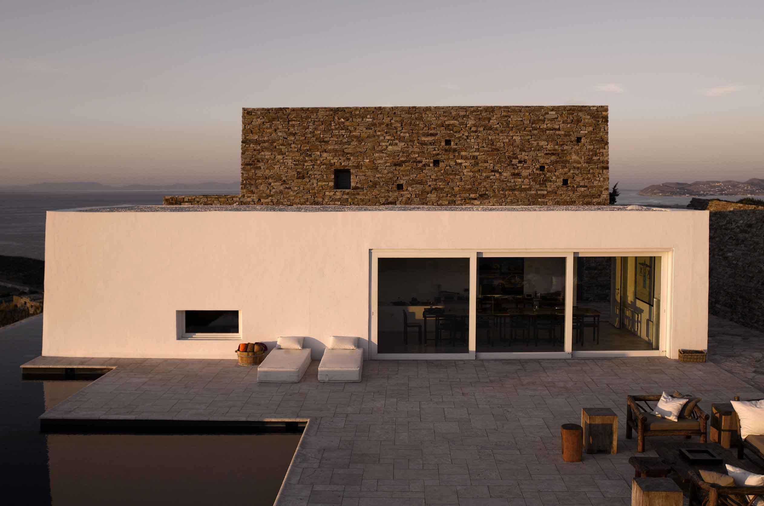 The 2004 winner of the ar+d Emerging Architecture award, Kratir is a contemporary architectural landmark on the Greek island of Antiparos.