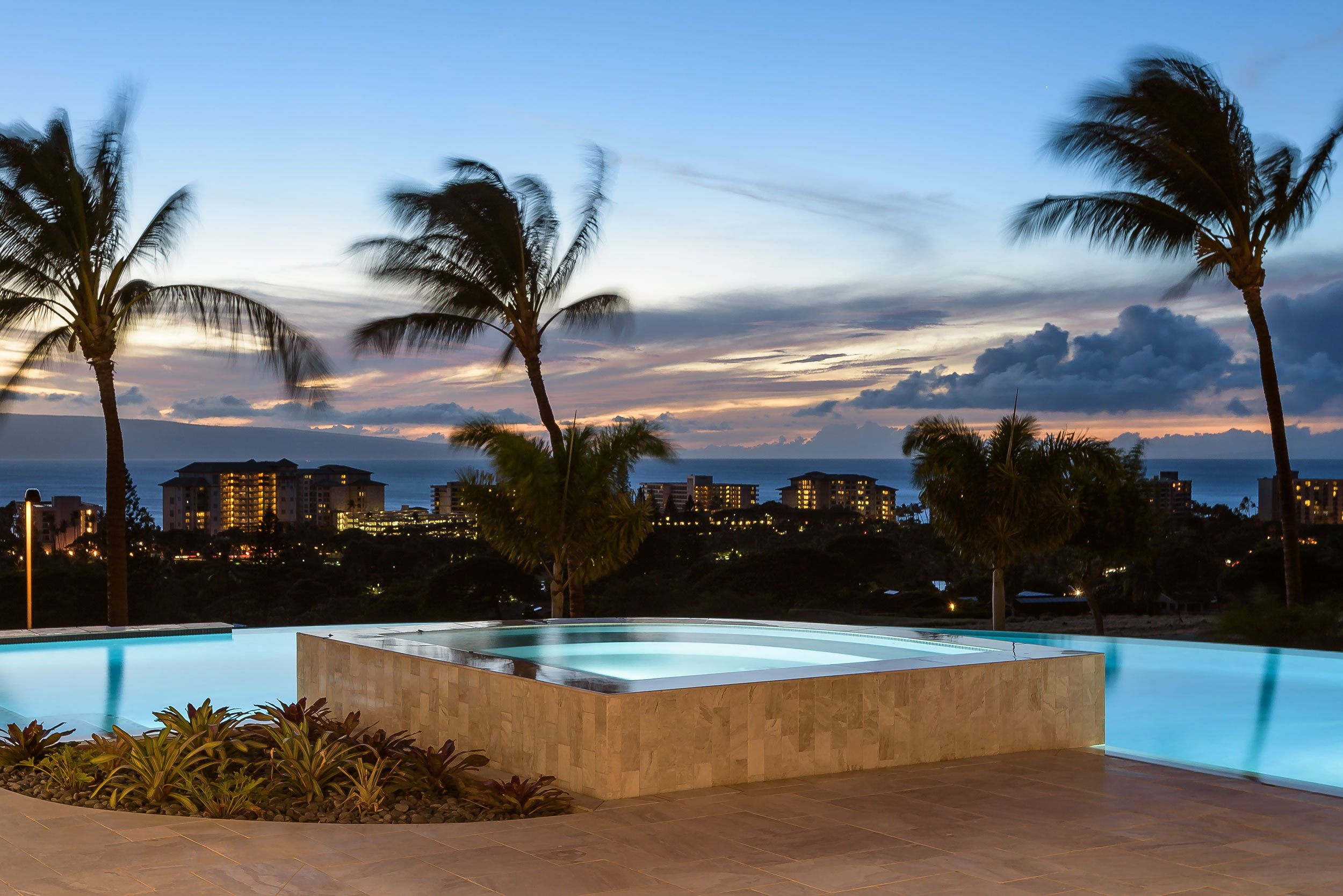 This brand-new custom-built home in Kaanapali Golf Estates has the total island resort package: a 1.5-mile stretch of pristine Pacific Ocean coastline and world-class golf courses.