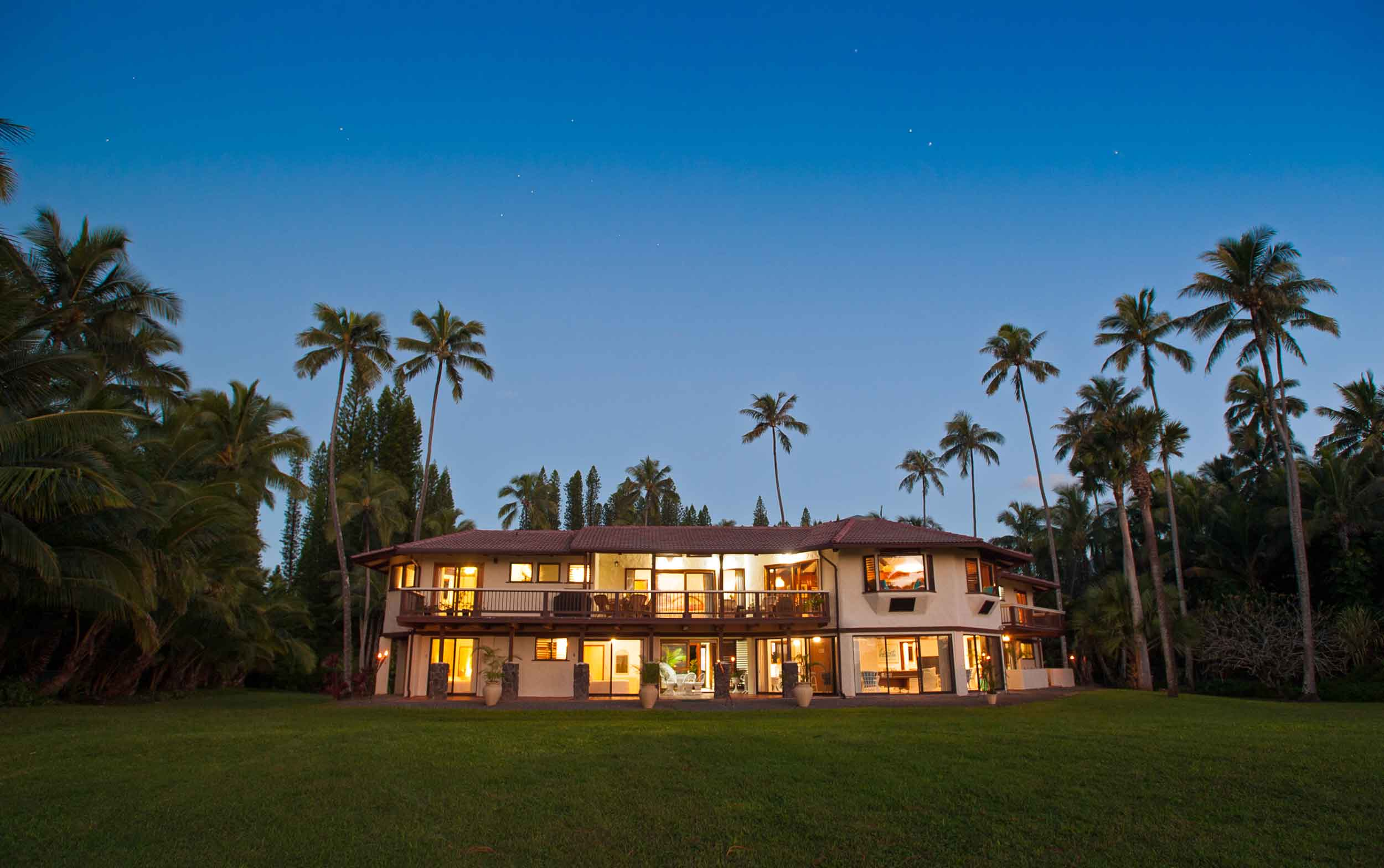 """Bali Hai Villa—named for the peak in the film classic """"South Pacific""""—beckons with its incomparable beach setting."""