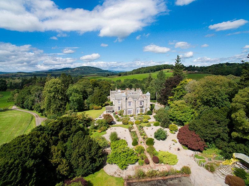 Overlooking the River Dee and Loch Ken, the 10-bedroom Hensol House has been renovated by the current owners, who have also updated the farming and established a dairy herd. On the market with Strutt & Parker, the exclusive affiliate of Christie's International Real Estate in Scotland.