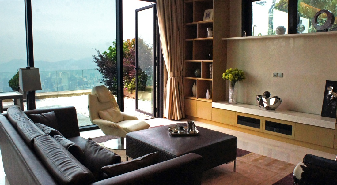 This private townhouse is one of a select few residences at The Peak, Hong Kong's most highly sought-after neighborhood.