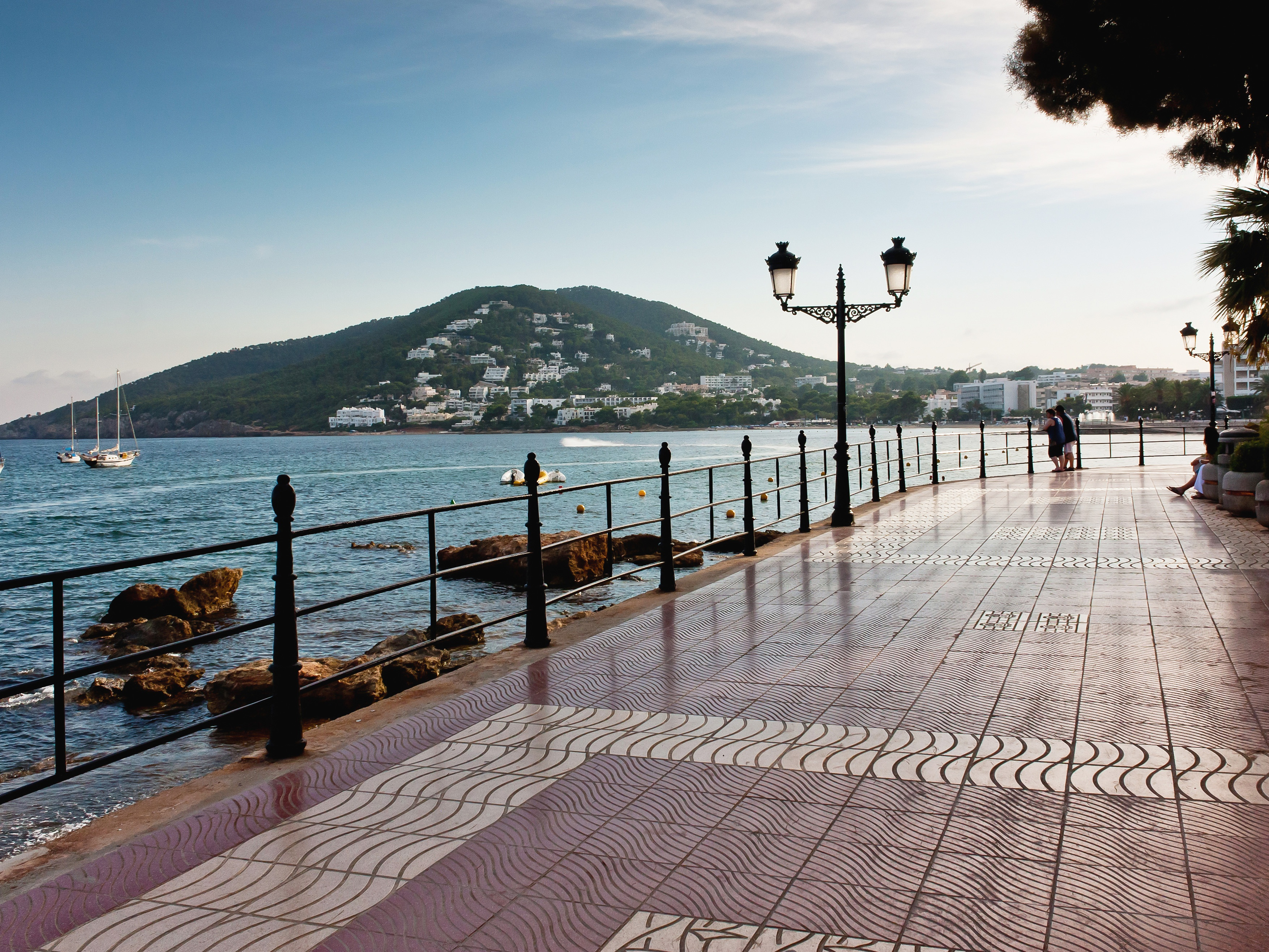 Santa Eulària is a laid-back coastal town, home to the newly opened Babylon Beach Bar. Photograph: Shutterstock