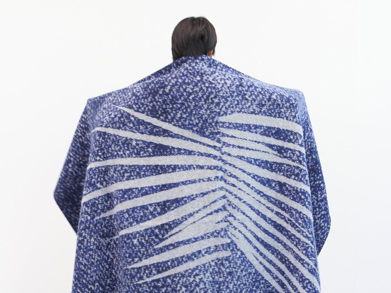 Kimvi Nguyen's design for Inigo Scout is called <i>Selvedge</i>, inspired by the warp and weft of Japanese selvedge denim.