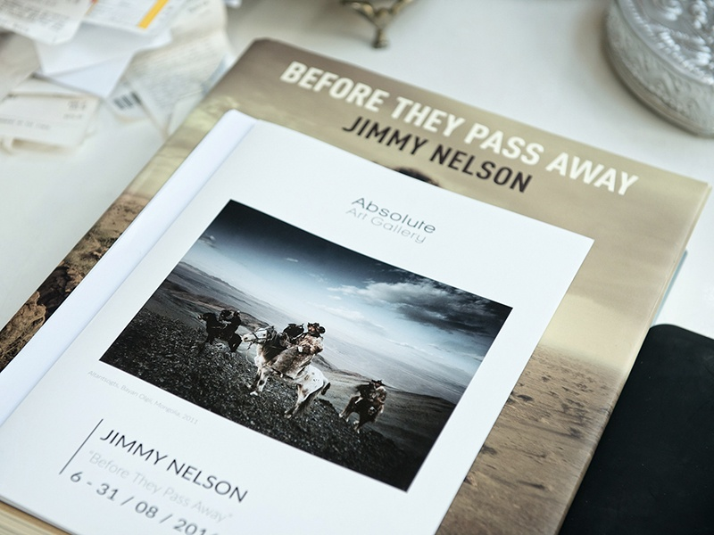 Complementing Jimmy Nelson's book, <i>Before They Pass Away</i>, is an ongoing series of exhibitions worldwide, including a showing at the Bryce Wolkowitz Gallery, New York, in the spring of 2017. Photograph: Hans Verleur