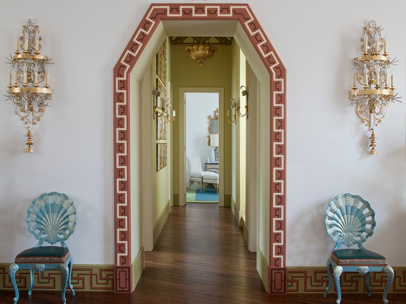 Kirill Istomin was given carte blanche when he decorated one of the summer pavilions in the Chinese Village, near Saint Petersburg in Russia. Photograph: Kirill Istomin Interior Design