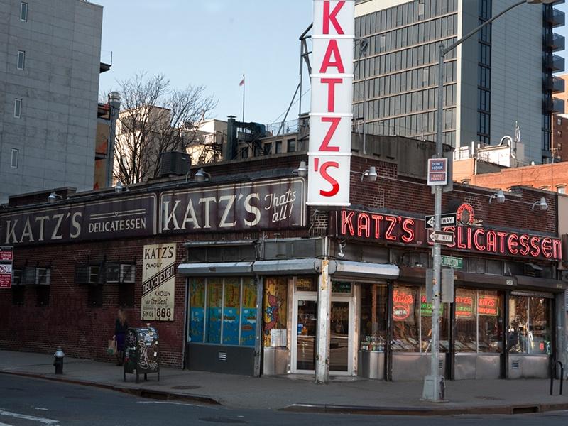 Katz's Delicatessen, New York, New York