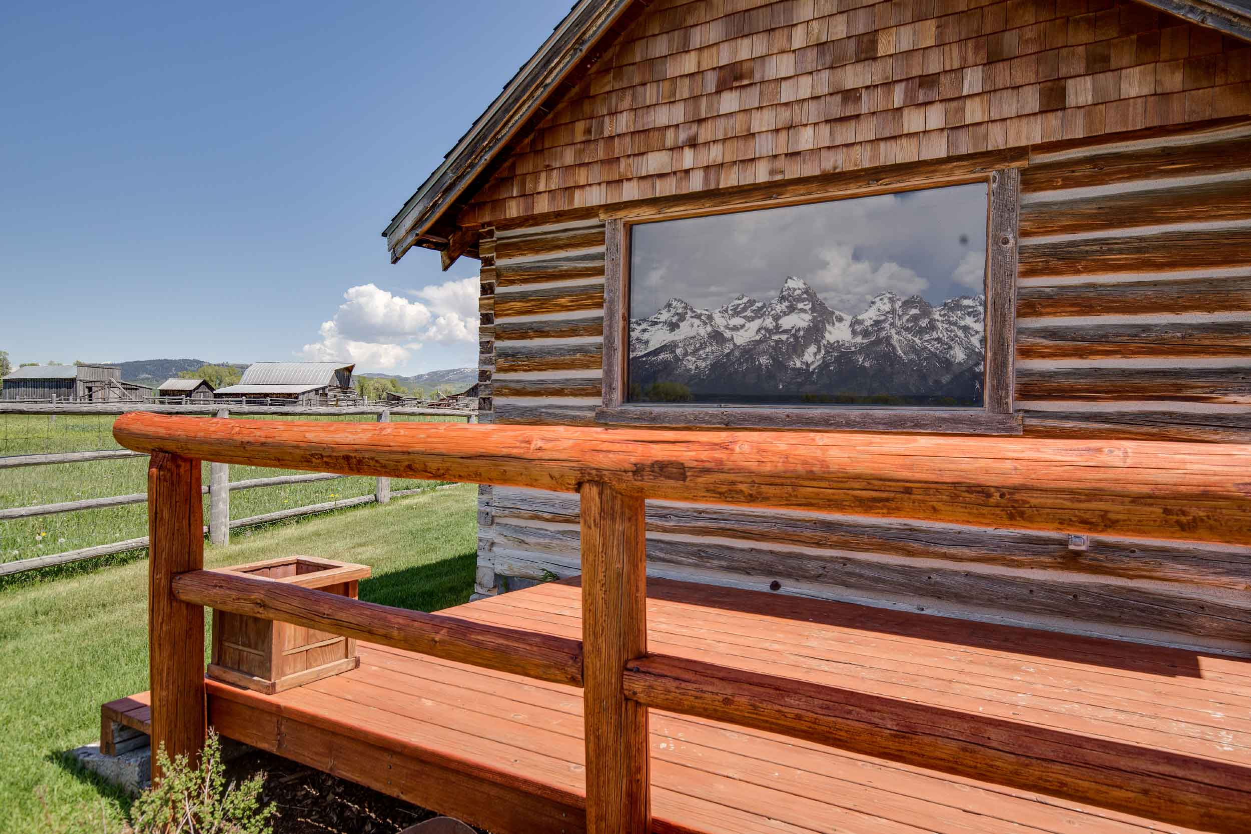 A testament to the pioneers of the American West, Moulton Ranch is the last remaining homestead in Grand Teton National Park's Mormon Row Historic District.