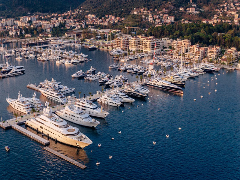 Ideal for vessels of all sizes, Porto Montenegro is the gateway to all Kotor has to offer.