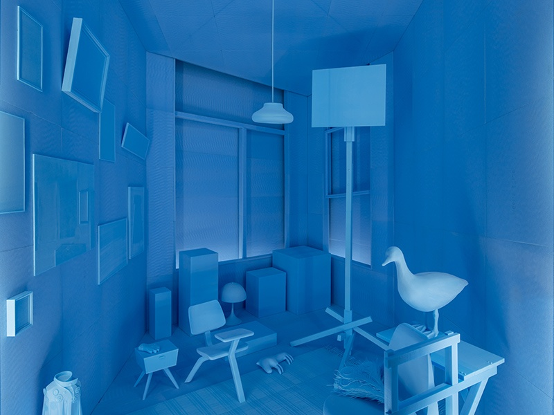 Each object in <i>Design Diorama: The Archive as a Utopic Environment</i> reveals the ideals of owners Rianne Makkink and Jurgen Bey. Photograph: Thijs Wolzak