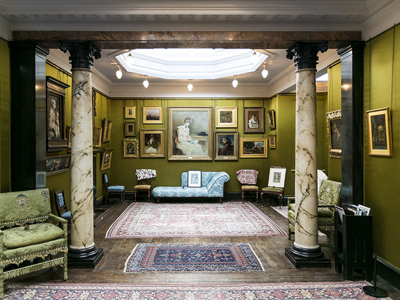 In the Silk Room, Lawrence Alma-Tadema's work from the 1860s and 1870s—when his trademark paintings of life in antiquity began to emerge and his London career started to flourish—will be on exhibit. Photograph: Kevin Moran