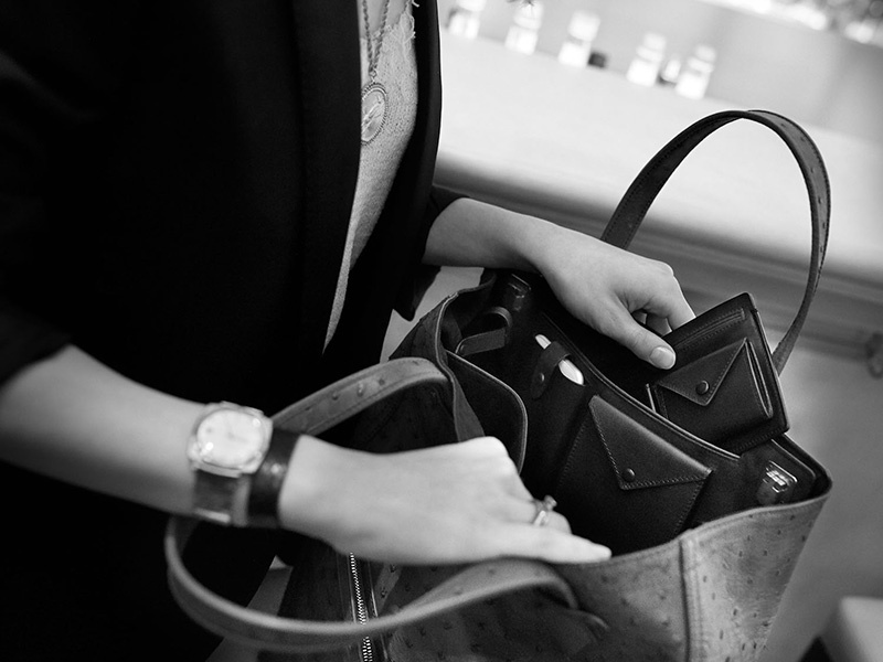 The travel-inspired luxury leather goods from LONB are purposeful, with a modular concept, as well as beautiful.