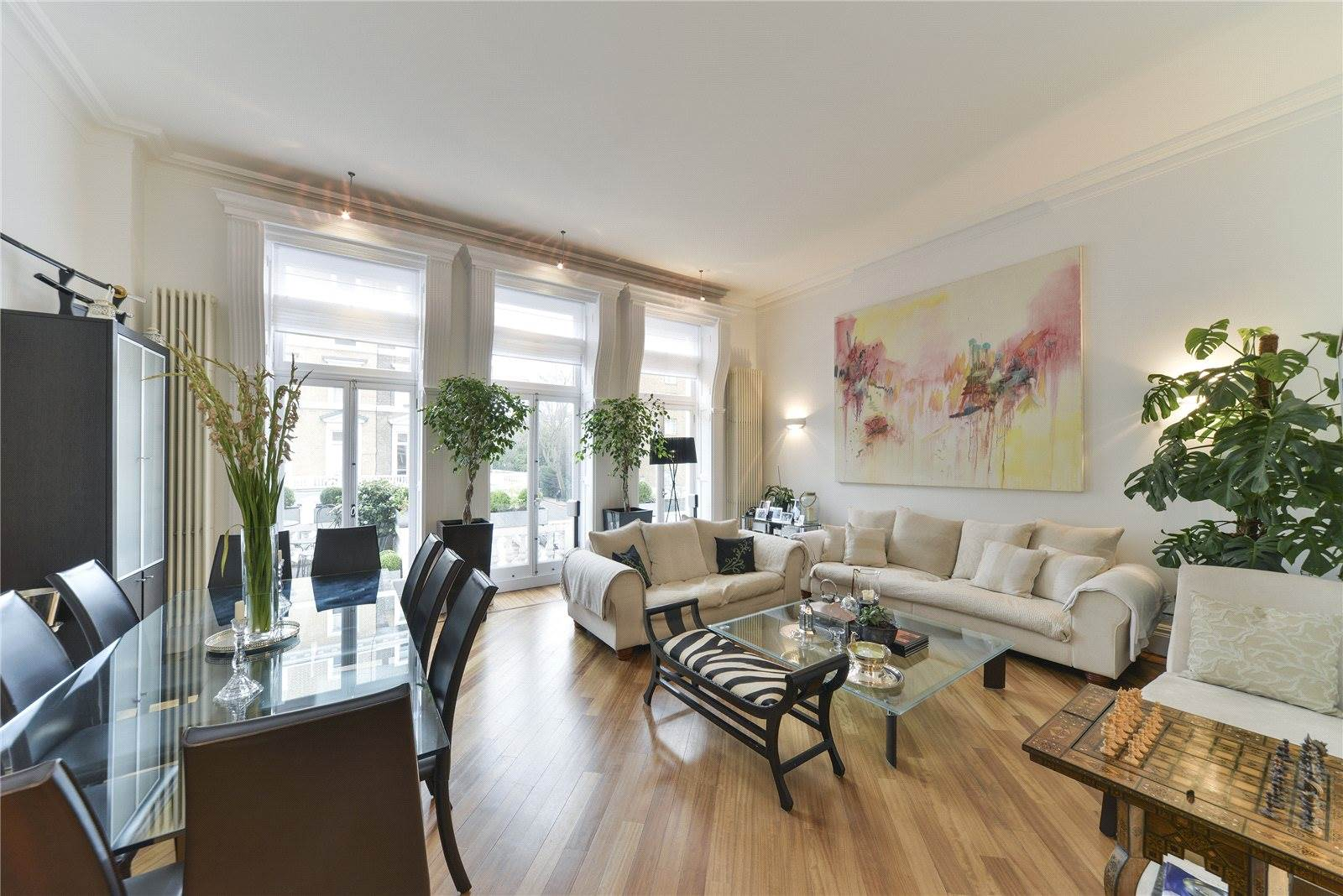 <b>3 Bedrooms, 1,730 sq. ft.</b><br/>Three-bedroom maisonette with wonderful outside space