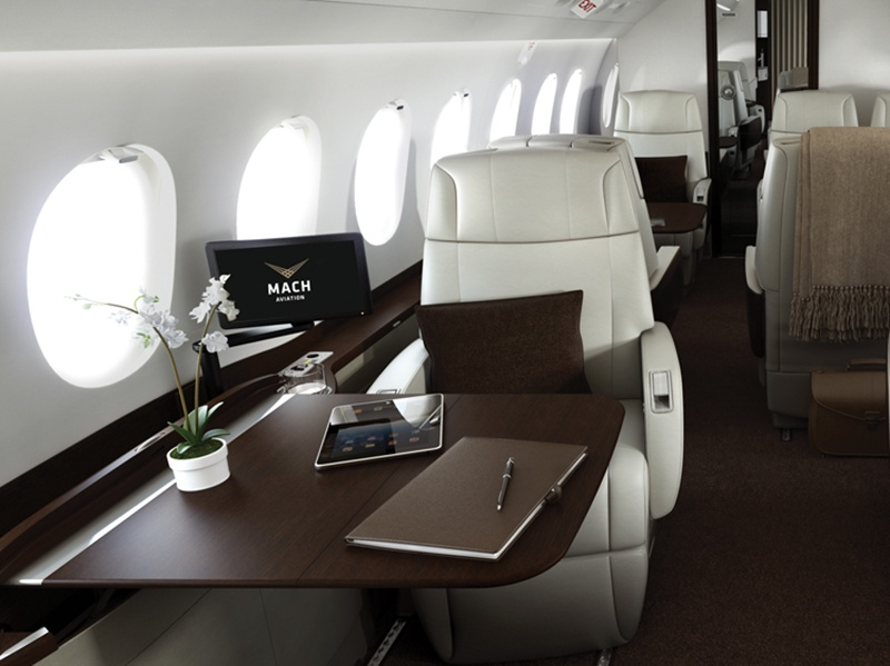 Contrary to popular belief, most private jets are used for business rather than pleasure. Banner image: Dassault Aviation